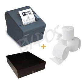 Bundel Bonprinter + Kassalade + Bonpapier - Scanner MAC-BYPOS-1815