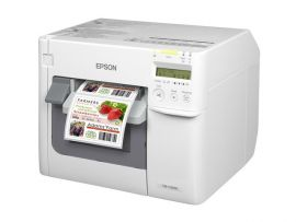Epson TM-C3500 colour label printer-BYPOS-2669