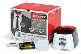 Evolis Badgy200 cardprinter KIT