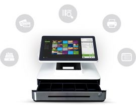 Elo PayPoint, 33,8cm (13,3'') POS system-BYPOS-15786