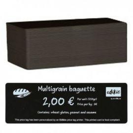 Evolis plastic cards, black, long, 500 pcs.