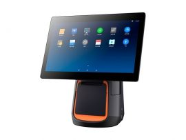 Sunmi T2 Mono, 38.1 cm (15.6''), Printer, Android, fanless, black