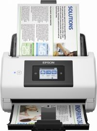 Epson WorkForce DS-780N, DIN A4, 600 x 600 dpi, 45 pages/min., display, USB, Ethernet-B11B227401