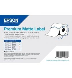 Epson label roll, synthetic, 102mm