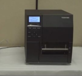 TOSHIBA B-EX4T2 Flat Head TT / DT Industrial Label Printer-BYPOS-2099
