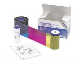 Datacard Color Ribbon, YMCKT, 500 prints Include one ribbon, one isopropanol cleaning card and one adhesive cleaning sleeve.-534000-003